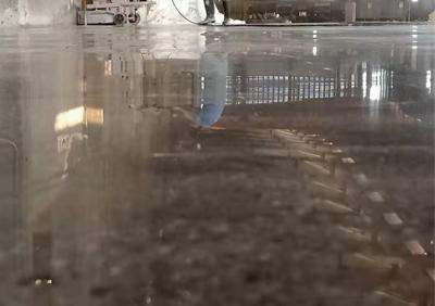 自贡市某钢铁厂车间旧地坪改造